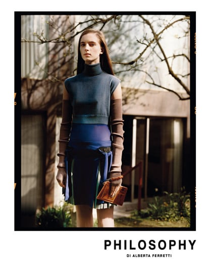 Alberta Ferretti Goes With Classic, Clean Philosophy for Fall 2009 Campaign