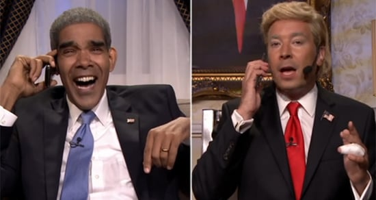 Best of Late Night TV: Obama Calls Trump With Advice, Meryl Streep's Guitar Lesson, 'Flinch' Game