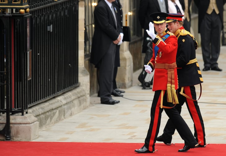Prince William Arrives at the Royal Wedding With Harry!
