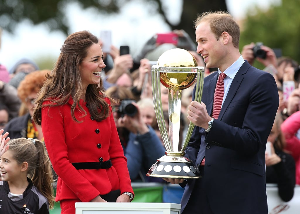 And Made the Most of Their Royal Duties