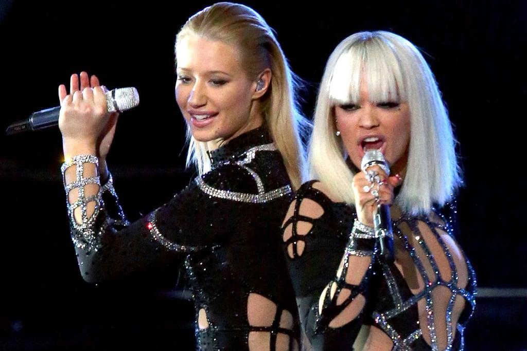 "Iggy Azalea and Rita Ora, ""Black Widow"""