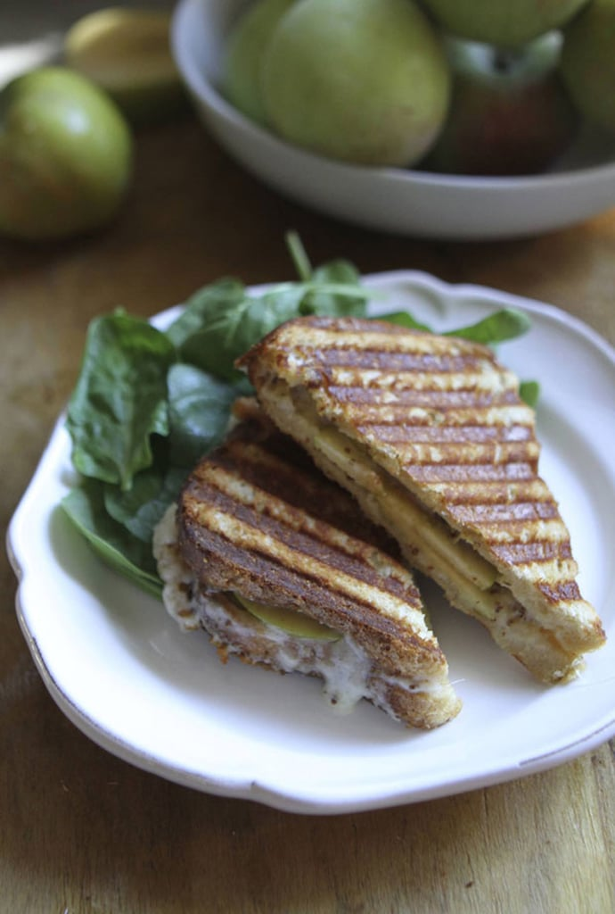 Havarti and Apple Panini