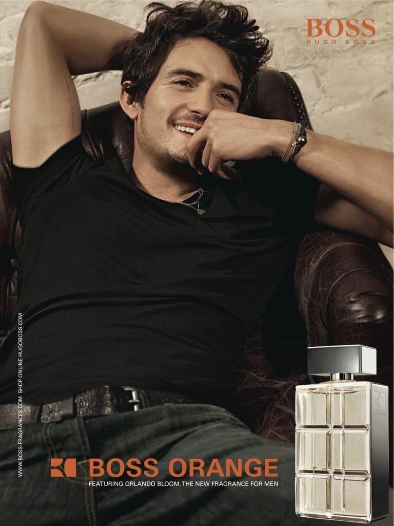 Orlando Bloom For Hugo Boss