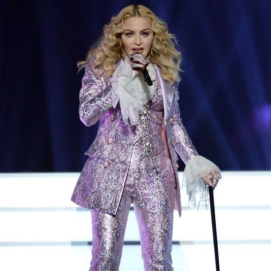 Madonna's Purple Suit at Billboard Music Awards 2016