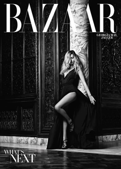 Photos of Georgia May Jagger in Harper's Bazaar November 2010 by Hedi Slimane; Her Thoughts on Parents Jerry Hall & Mick Jagger