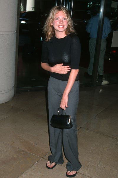 Michelle Williams went to the Women In Film Lucy Awards in September of 2000.