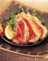 Reader's Recipe: Sesame-seared Tuna with Coconut Rice