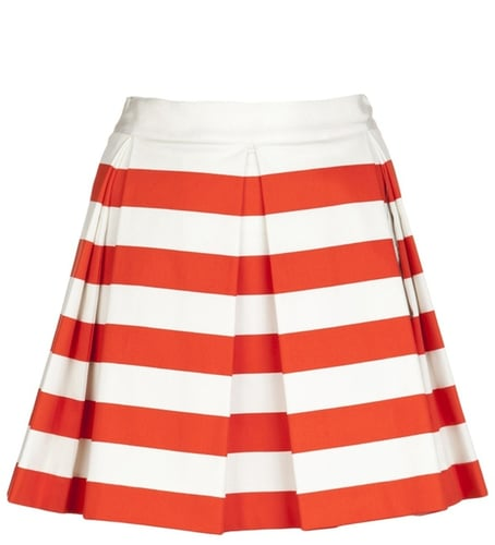Robert Rodriguez Striped skirt