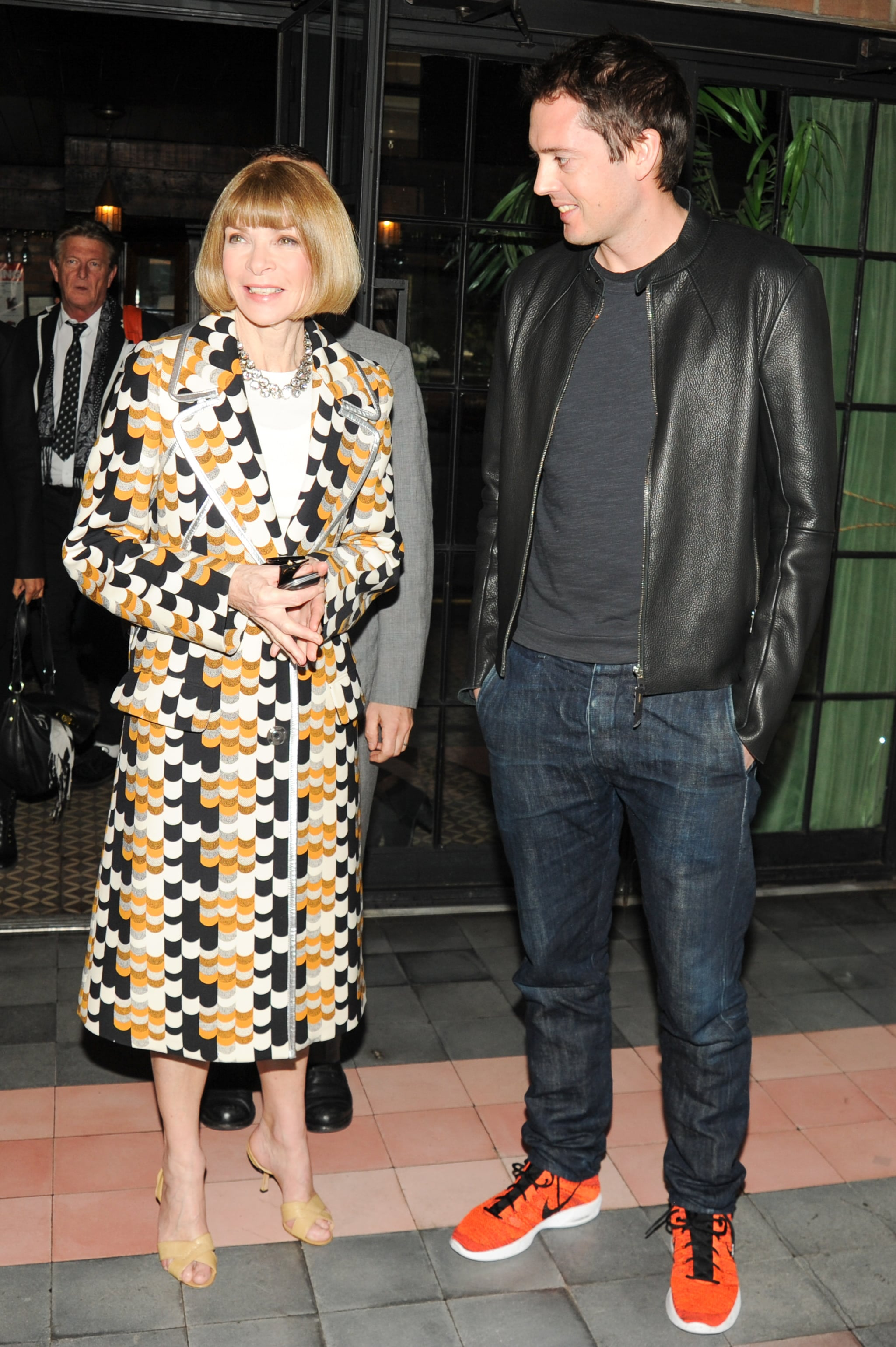 Anna Wintour and Marcus Wainwright