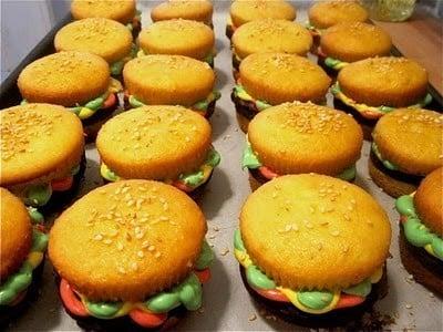 Bake These: Cupcake Burgers