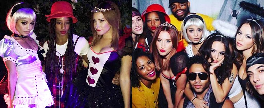 The High School Musical Crew Had a Halloween Reunion in Wonderland