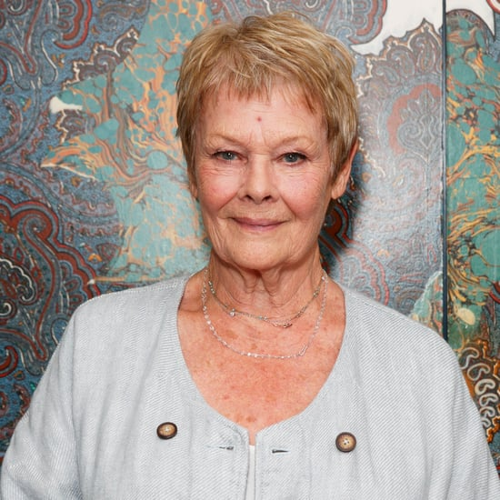 Dame Judi Dench Tattoo Picture June 2016