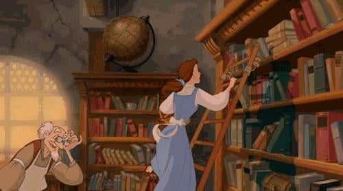 You bring home way more library books than you can actually read before they're due.
