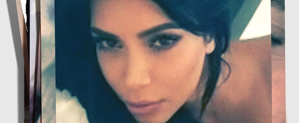 Kim Kardashian Shares a Topless Bedroom Selfie For Interview Magazine