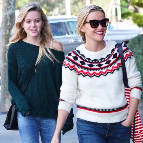 Reese Witherspoon and Ava Phillippe Leaving Brunch in LA