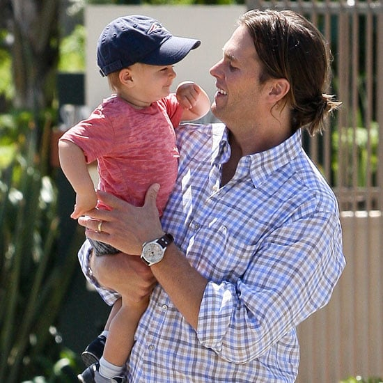 Pictures of Tom Brady With Baby Benjamin