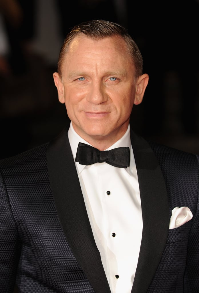 Daniel Craig dressed up in a tux for Skyfall's London premiere.