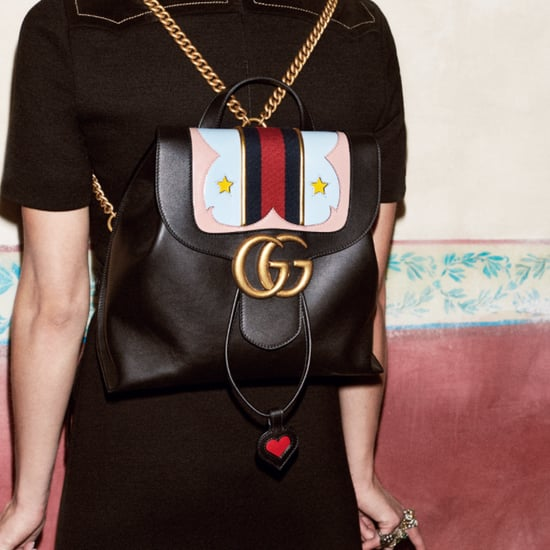 travel style | gucci gg marmont backpack