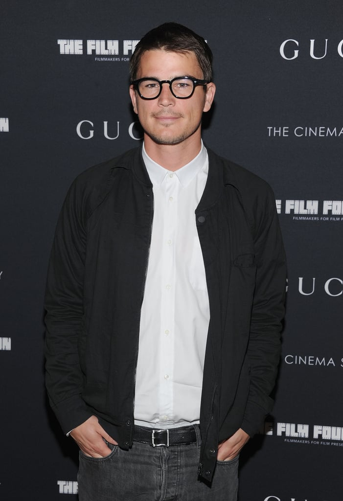 Josh Hartnett Steps Out in Spectacles For a Special Movie Screening