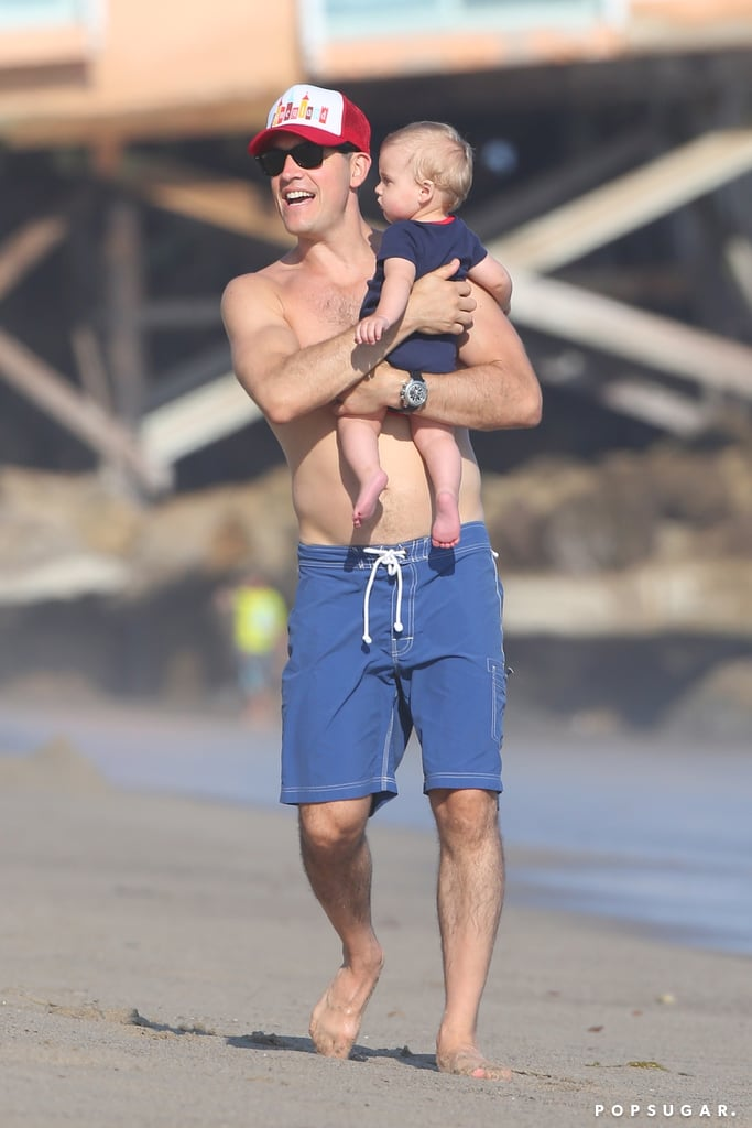 Reese Witherspoon Does Fourth of July on the Beach With Her Boys