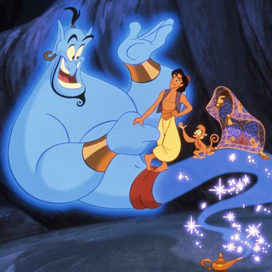 Outtakes of Robin Williams in Aladdin