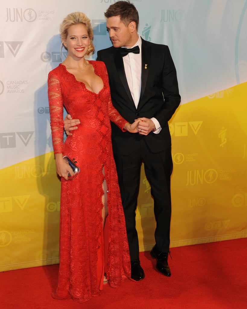 Michael Bublé and Pregnant Luisana Lopilato Light Up Canada's Juno Awards