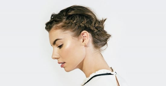 Tutorial: The Coolest Braided Updo for Short Hair