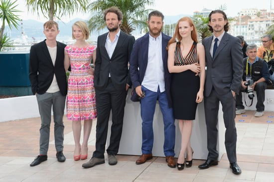 Shia LaBeouf and Tom Hardy Cannes Film Festival Pictures