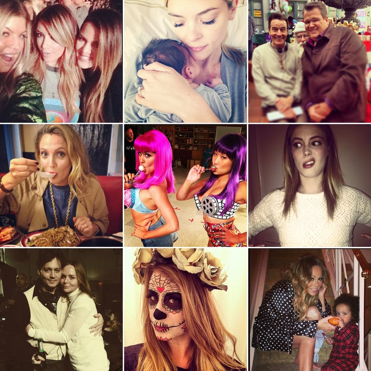 New Moms, Old Friends, and More Cute Candids