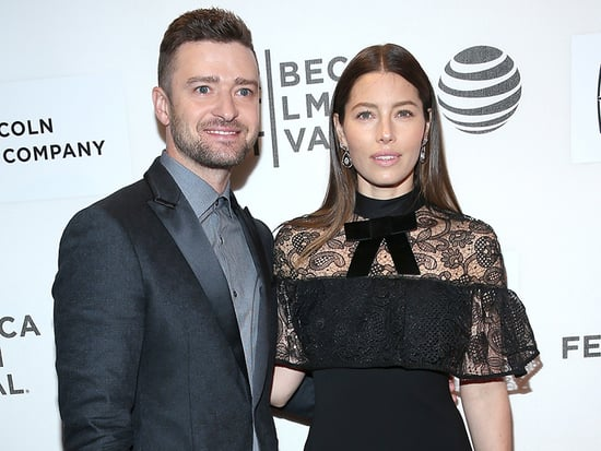 Date Night! Justin Timberlake and Jessica Biel Share Kisses at Shadowboxers Show