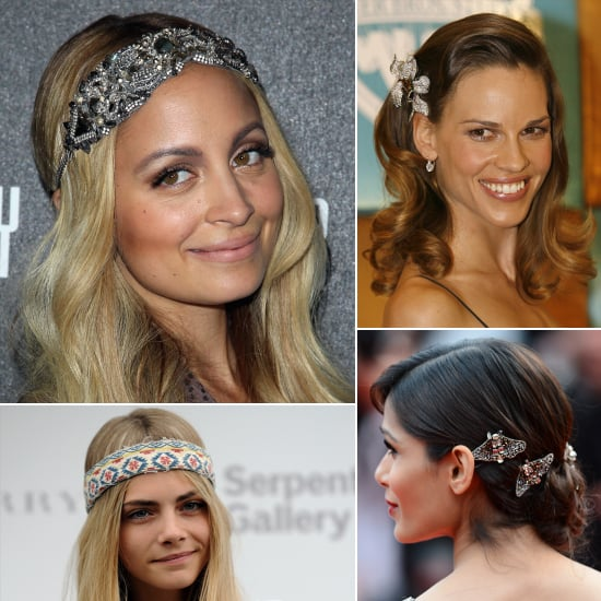Pictures of Celebrities Wearing Hair Accessories