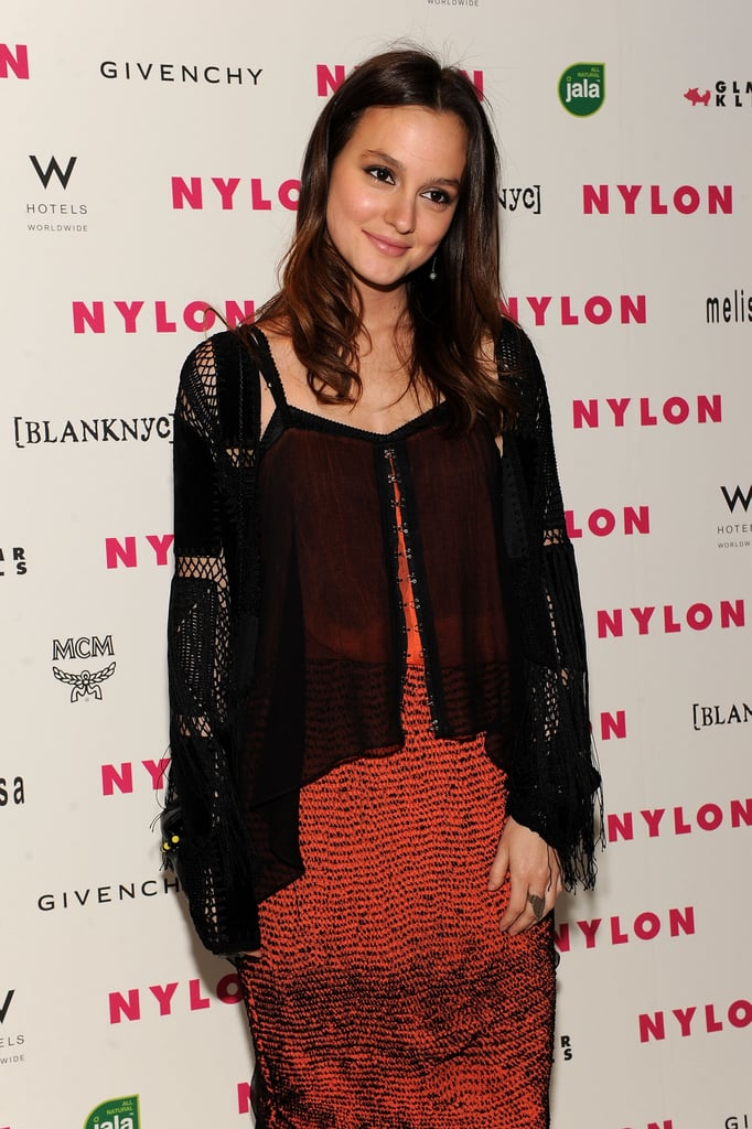 Pictures of Leighton Meester and Minka Kelly at a Nylon ...