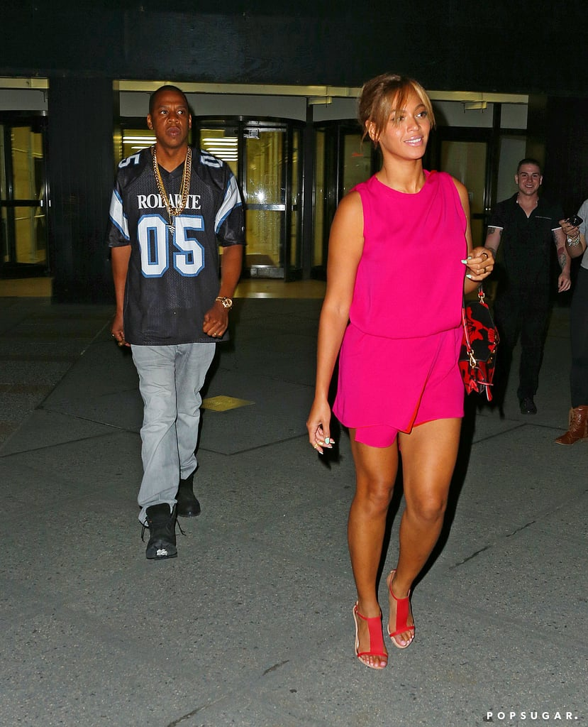 Beyoncé Can't Contain Her Smile Around Jay Z