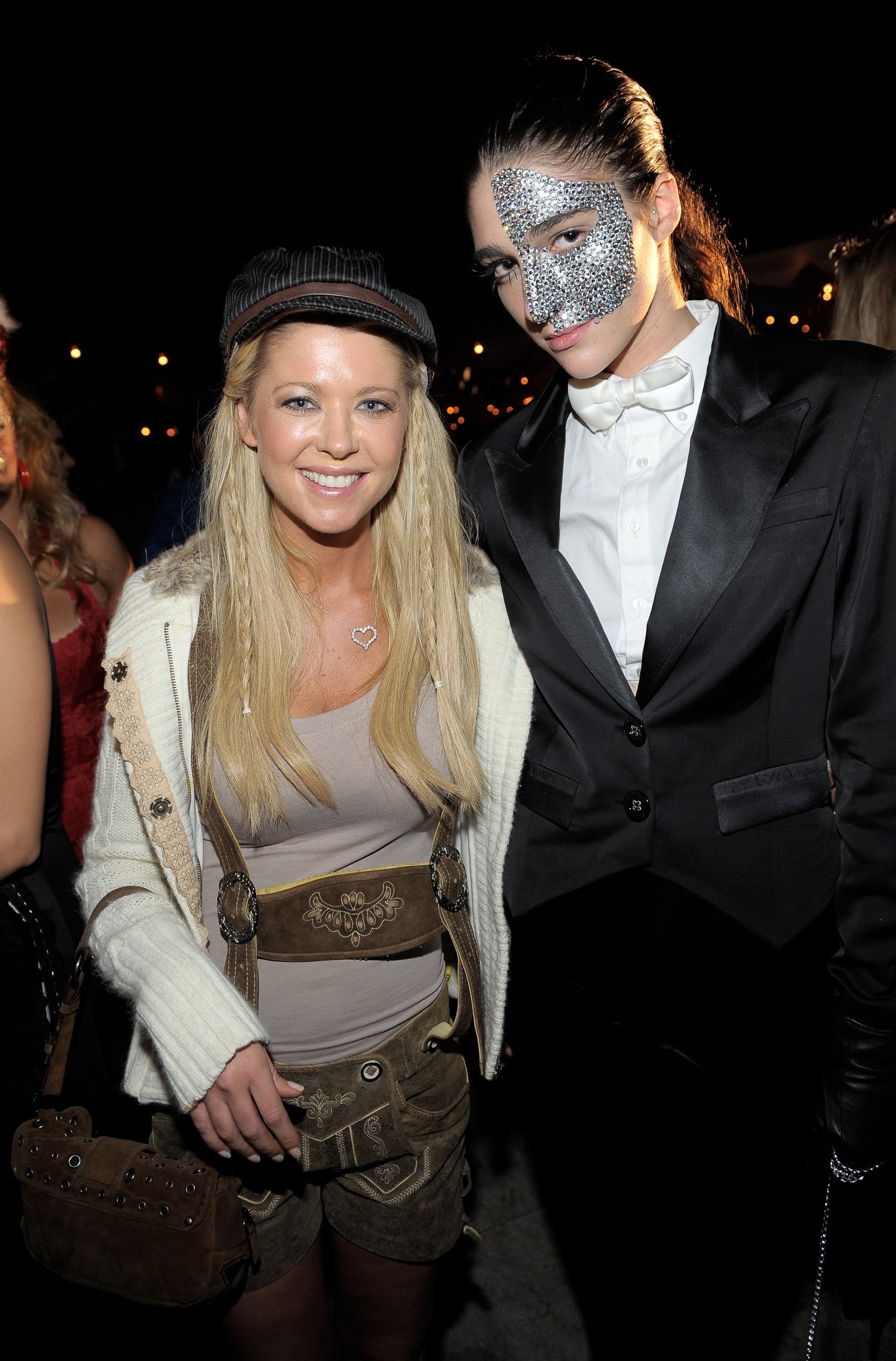Tara Reid was out and about for Halloween.