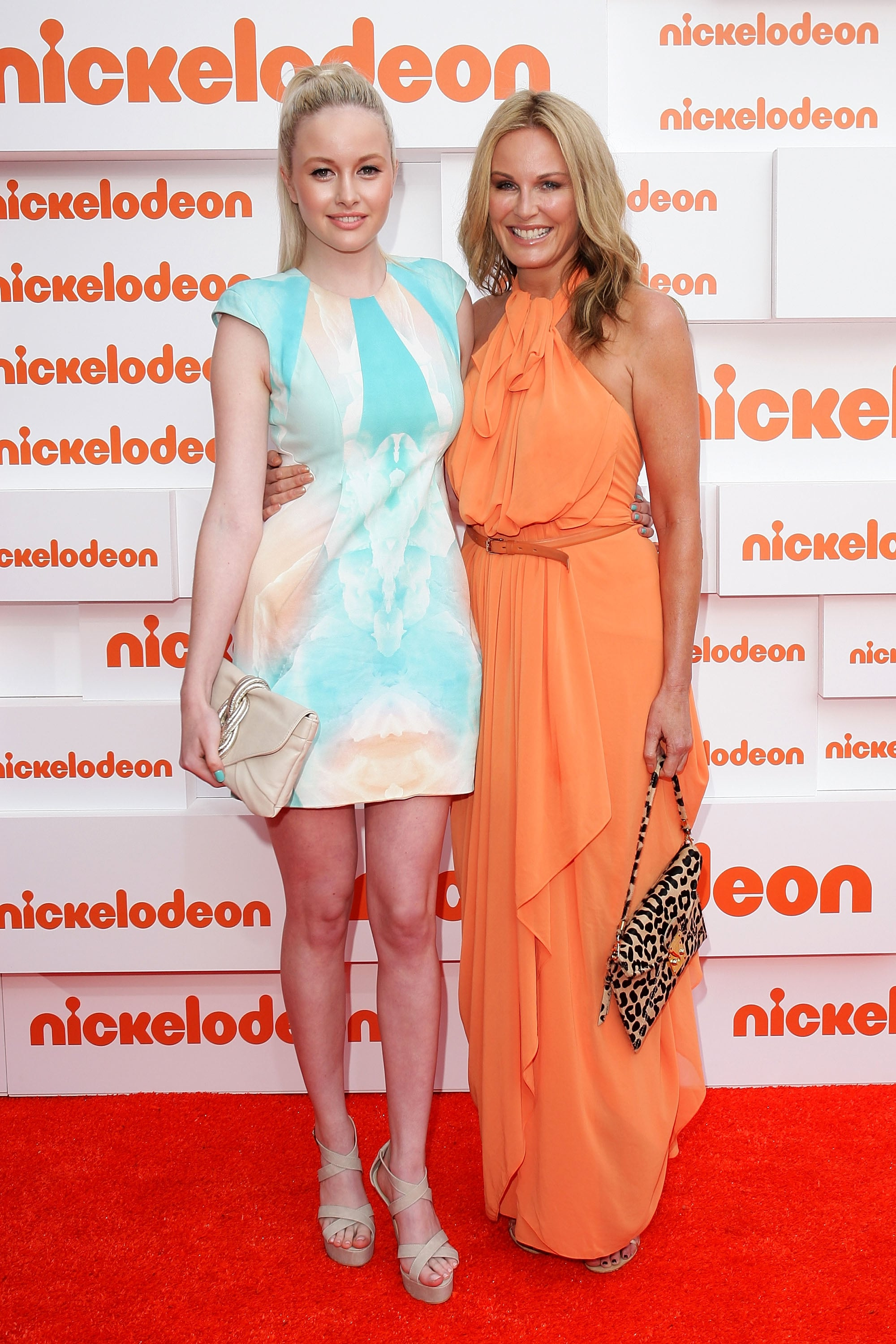 Simone Holtznagel and Charlotte Dawson