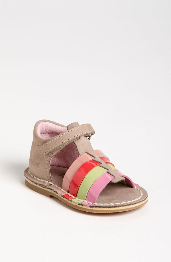 Colmar sandals ($73) by Kickers show off pretty toots while still holding the heel securely in place for playground fun.