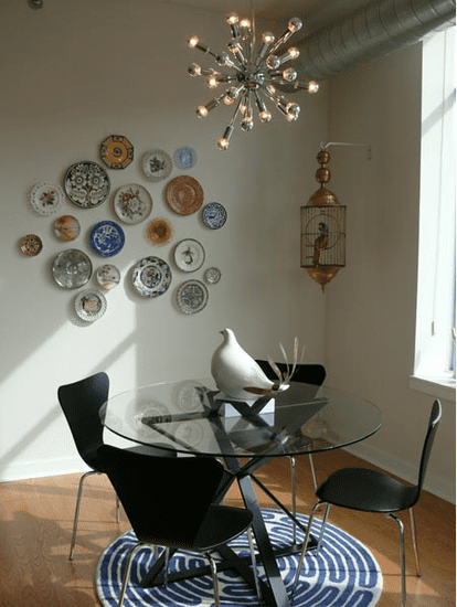 How-To: Decorate on the Cheap With Pretty Plates