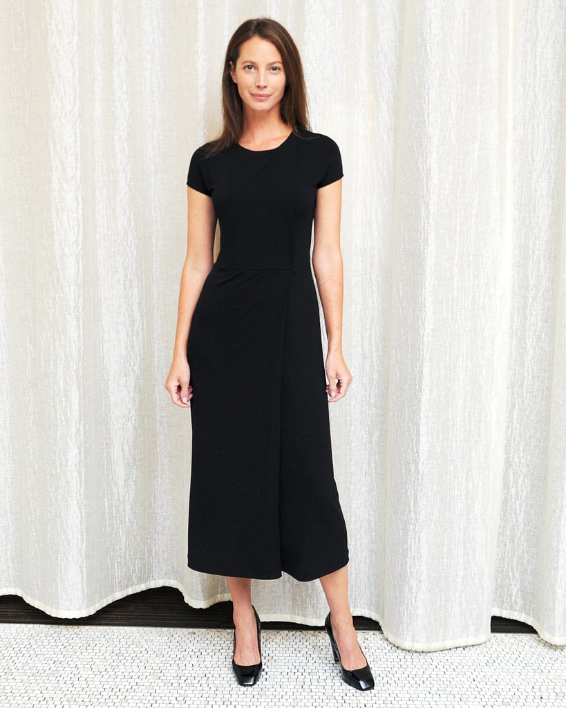At Macy's Herald Square, Christy Turlington Burns hosted Calvin Klein's Every Mother Counts event in head-to-toe black.