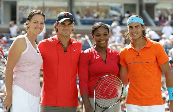 Goodbye Olympics, Hello US Open!