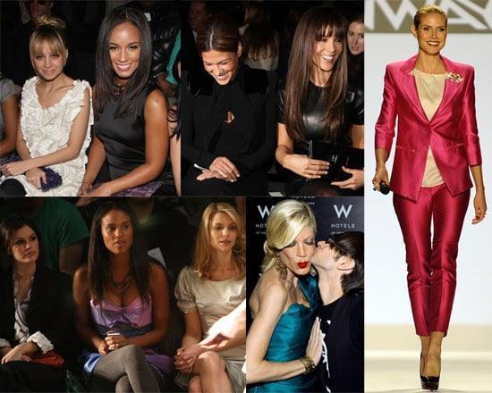 Photos of Rachel Bilson, Nicole Richie, Claire Danes, Kate Beckinsale, Heidi Klum at Fashion Week