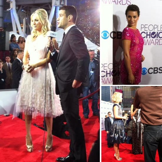 Stars Hit the red carpet for the People's Choice Awards!