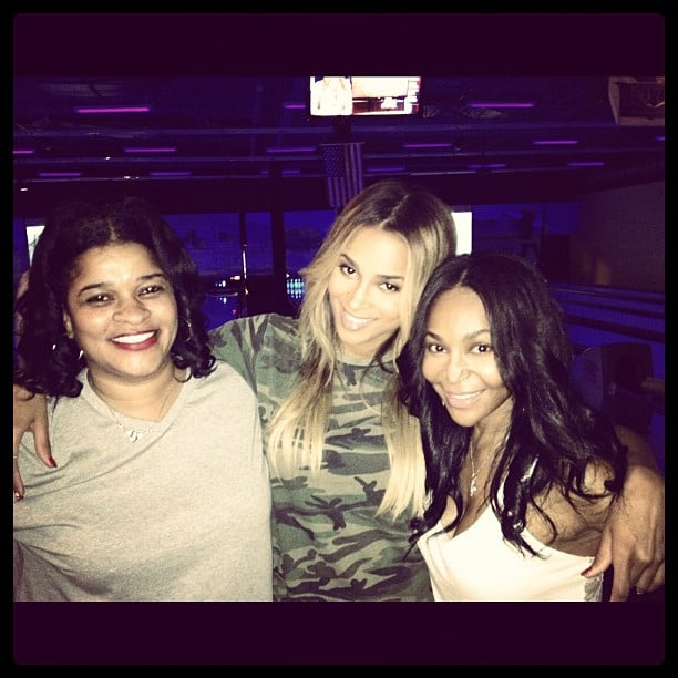 Ciara snapped a photo with her mom and best friend.  Source: Instagram user ciara