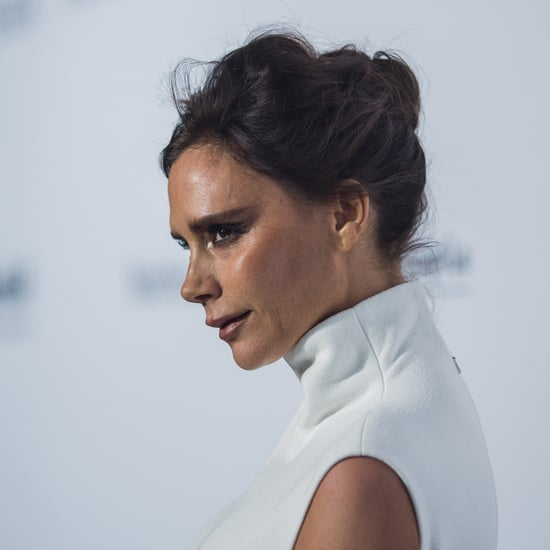 Victoria Beckham Wearing Her Own Designs
