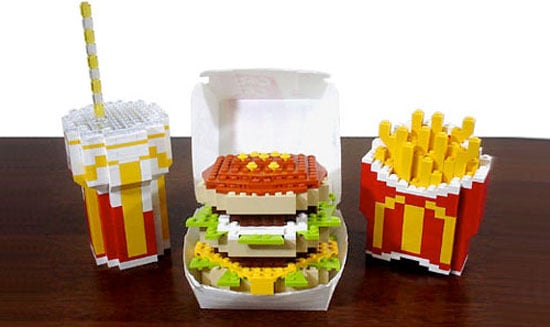 Photos of the Lego Big Mac Combo Meal