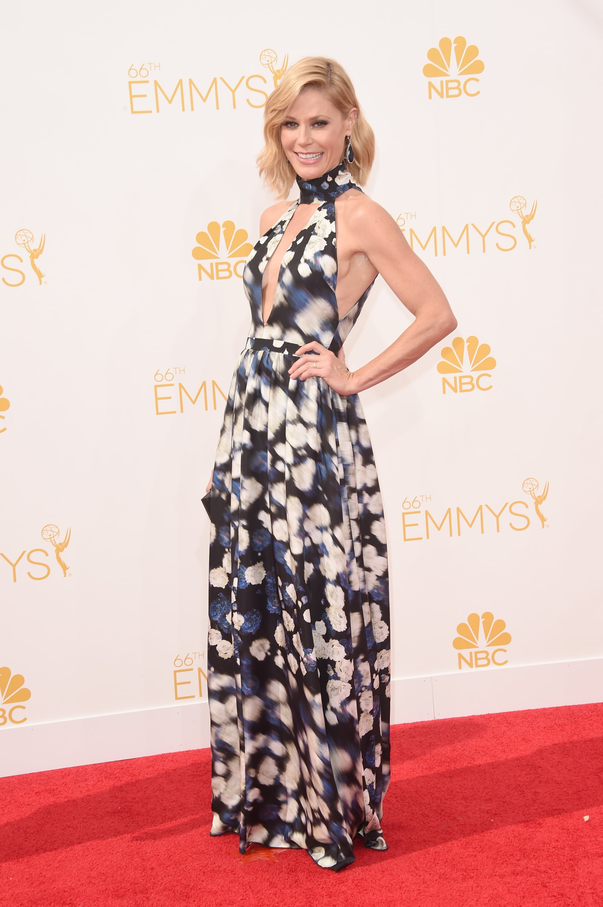 Julie Bowen in Jacob & Co. Jewelry