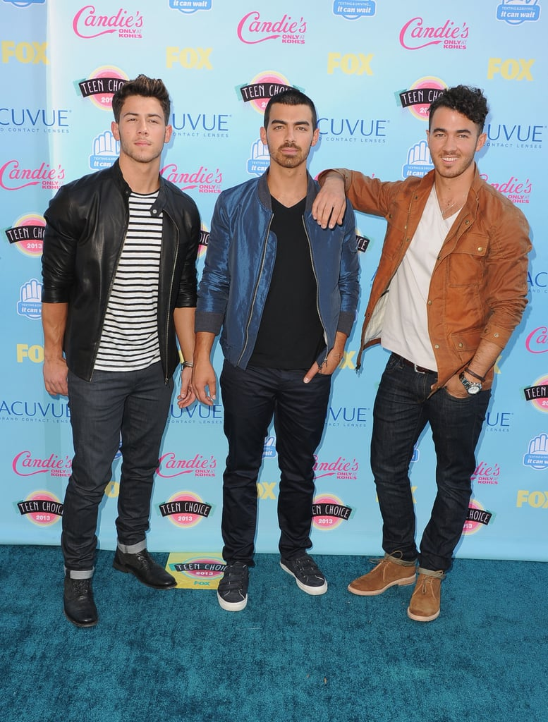 The Jonas Brothers attended the 2013 Teen Choice Awards.