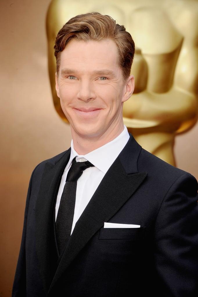 Benedict Cumberbatch Lands the Perfect Oscars Photobomb