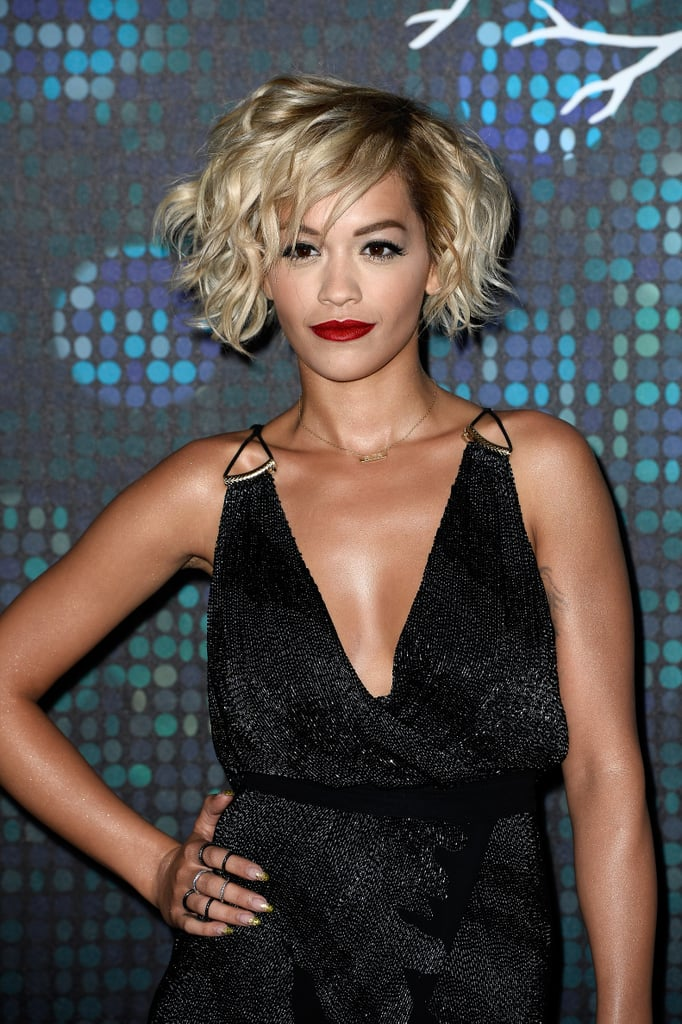 "Rita Ora Talks Fifty Shades' ""Shock Value"" and Sings a Stripped-Down Set at Cannes"