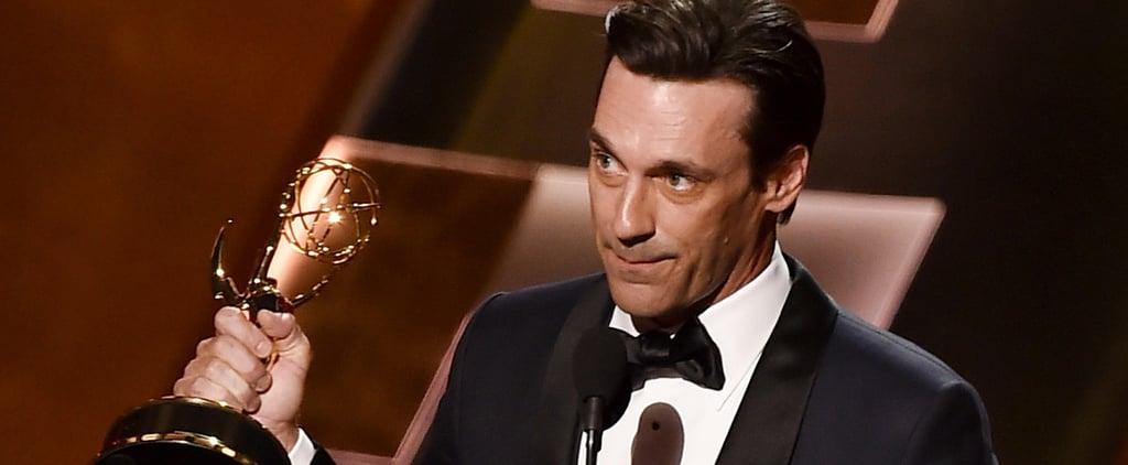 Watch Jon Hamm Finally Win His Emmy For Mad Men