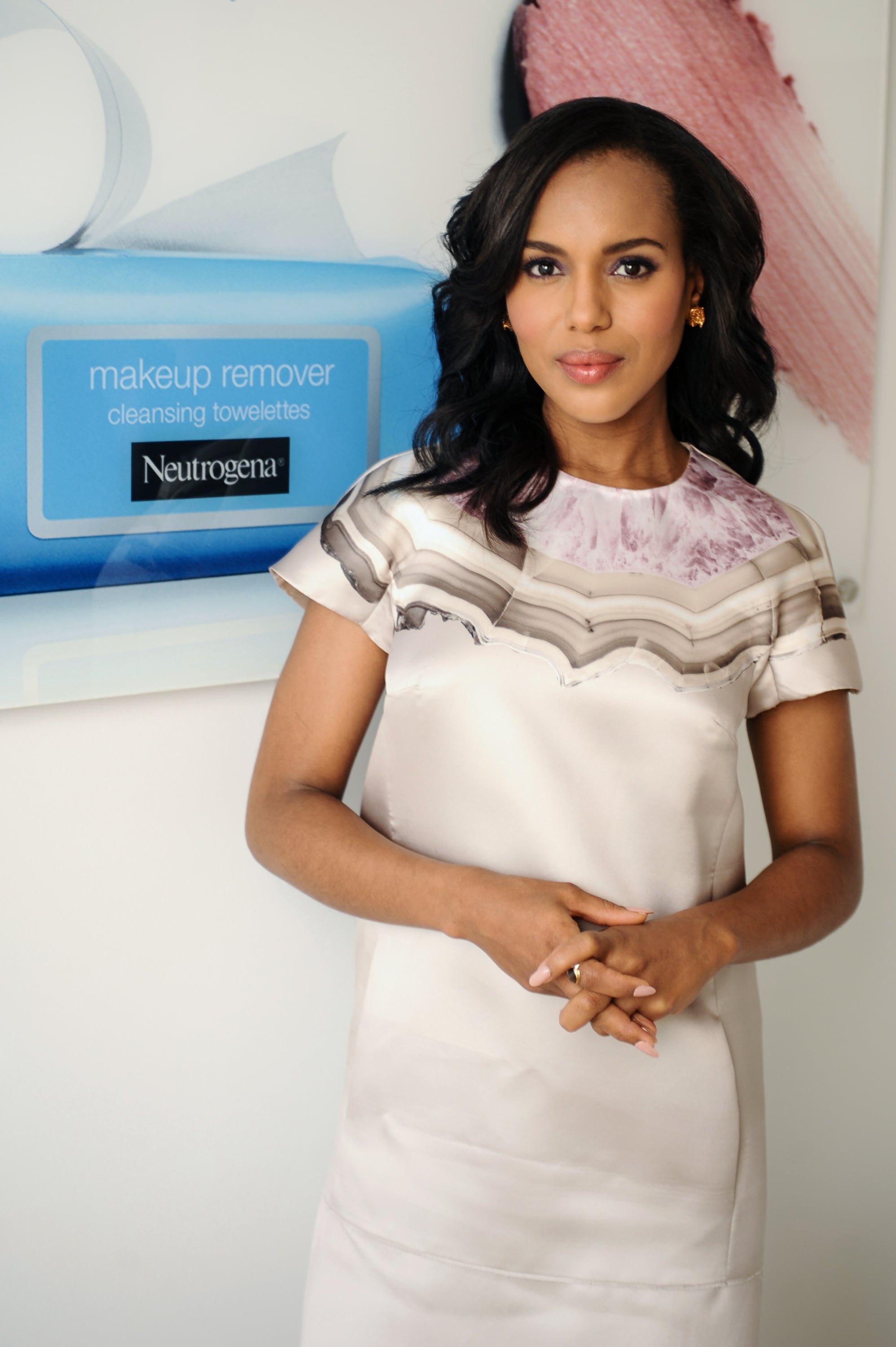 In October, Kerry joined Neutrogena as a creative consultant and spokeswoman, though you won't see her in ads until 2014.